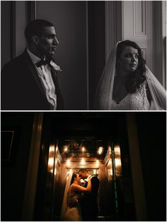Black Tie wedding at Oulton Hall, Leeds.  Gorgeous couple portrait. www.pauljosephphotography.co.uk