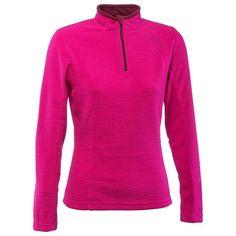 Deportes de Montaña - FORRO POLAR Forclaz 50 mujer rosa estamp. 2f55f6e7b13