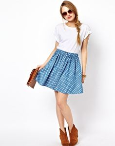 Sugarhill Boutique Polka Skirt