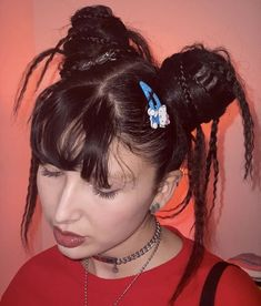 2000s Hairstyles, Ponytail Hairstyles, Pretty Hairstyles, Grunge Hairstyles, Halloween Hairstyles, Hairstyle Short, Funky Hairstyles, Formal Hairstyles, Hairdos