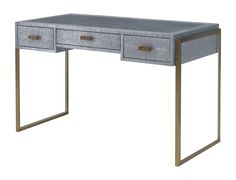 Buy Brooklyn Desk/Dressing Table by Julian Chichester - Quick Ship designer Furniture from Dering Hall's collection of Contemporary Industrial Mid-Century / Modern Transitional Desks & Writing Tables.