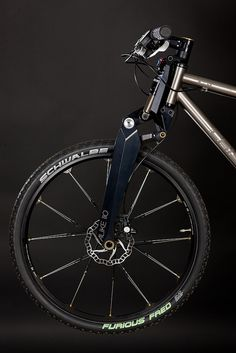 Crisp Titanium bicycles.