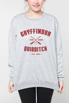 Gryffindor Quidditch Harry Potter shirt women sweater tshirt