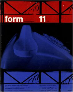 form N° 11. 1960. Cover: Karl Oskar Blase. © Verlag form GmbH & Co. KG