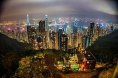 Victoria Peak, Hong Kong, China - TripAdvisor's  most talked about attractions of 2012