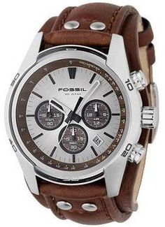CH2565, 2565, FOSSIL chronograph watch, mens