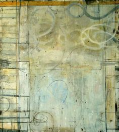 """""""Untitled 4""""  Bill Gingles 2009 Acrylic on canvas 52"""" x 48"""""""