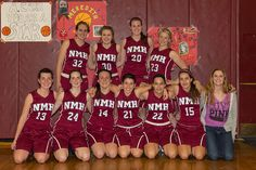 The NMH Girls' Junior Varsity #Basketball team finished the 2012-13 season undefeated -- for the second time in two years! Go #Hoggers!