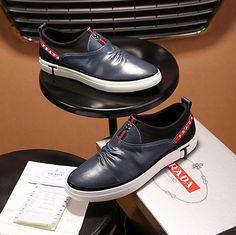 Prada Slip-On Flat Sneaker