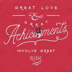 All Good Things Require Risks By Noel Shiveley and Alex McDonell