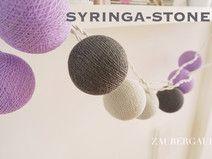 ⭐️ 20er Lichterkette SYRINGA-STONE⭐️ Cottonballs