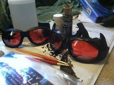 Catwoman Goggles Tutorial