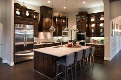 Toll Brothers - Vitoria Kitchen - Phillips Creek Ranch - Frisco, TX - Denton County