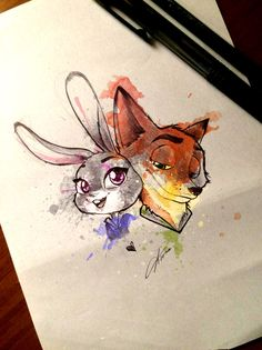 Want to discover art related to zootopia? Check out inspiring examples of zootopia artwork on DeviantArt, and get inspired by our community of talented artists. Disney Pixar, Film Disney, Disney Fan Art, Disney And Dreamworks, Disney Animation, Disney Magic, Zootopia Comic, Zootopia Art, Fanart