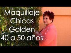 Maquillaje 40 a 50 años para Chicas Golden