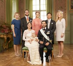 NEW PORTRAIT OF PRINCE ALEXANDER BAPTISM OF SWEDEN