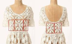 Crochet patterns reverse-engineered from fashion photos.