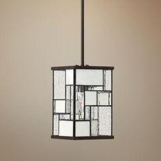 "Hinkley Mondrian 7"" Wide Buckeye Bronze Mini Pendant Light   Style # V3898"