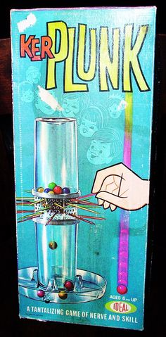 Ker-Plunk - I had this game!