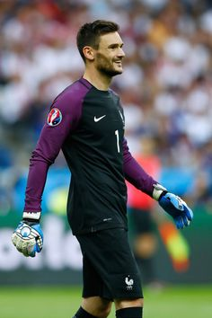 Hugo Lloris of France in action during the UEFA Euro 2016 Group A match between France and Romania at Stade de France on June 10, 2016 in Paris, France.
