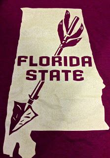 Hell yeah son! Florida State OWNS the state of Alabama now! 2013 National Champions!