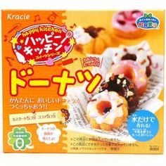 Buy Kracie Popin' Cookin' kit soft donuts DIY candy at Wish - Shopping Made Fun Japanese Snacks, Japanese Candy, Japanese Sweets, Japanese Food, Making Donuts, Diy Donuts, Doughnuts, Snack Recipes, Cooking Recipes