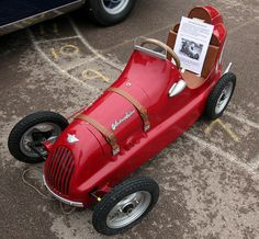 *PEDAL CAR ~ Austin pathfinder pedal car by chippy1920, via Flickr