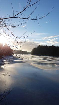Winter, Gjerstad, Norway