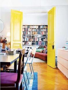 Puertas interiores de colores | Estilo Escandinavo