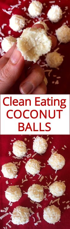 OMG I love these coconut balls! They are so chewy and full of coconut flavor! They are super healthy too - raw, vegan and paleo! I can eat the whole batch of these yummy little coconut truffles in one sitting!