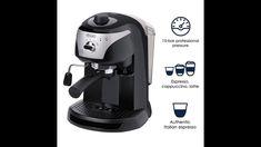 De'Longhi EC220CD 15 Bar Pump Driven Espresso Maker Automatic Espresso Machine, Espresso Coffee Machine, Espresso Maker, Coffee Maker, Best Espresso, Latte, Pumps, Bar, Choux Pastry
