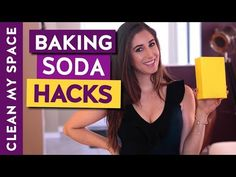 Baking Soda is Awesome for Cleaning! 10 Cleaning Uses for Baking Soda (Clean My Space) - YouTube