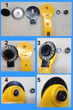 how to load decorative blades