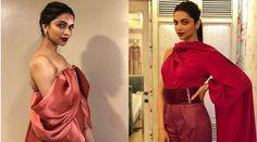 Deepika Padukone in shades of red for Padmavati promotions