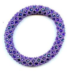 How to Do a Three-Bead Netting Pattern | eHow UK  ~ Seed Bead Tutorials