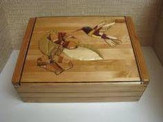 Resultado de imagen de rose intarsia box