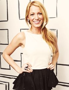 I think I might to a style steal video for Blake Lively. I love her style!