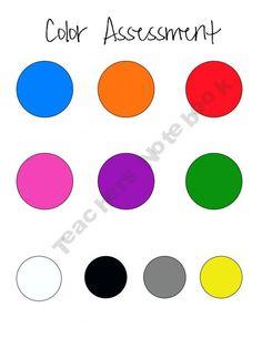 PreK-K Basic Assessment Pack