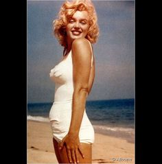 Marilyn Monroe, icône pin-up des 50's.