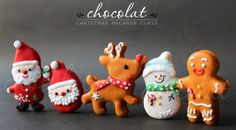 Christmas Macaron | Chocolat