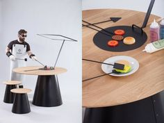 Solar Cooking Tables : Cooking Tables