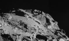 Rosetta. Photo ESA.