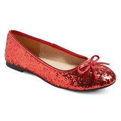 Girls' Fleta Glitter Ballet Flat