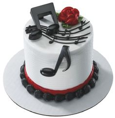 idea for flute cake maybe different colors