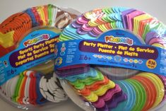 Foamies Party Platters from Michaels