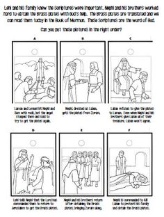 book of mormon coloring pages nephi - lds primary coloring pages lds coloring pages holy ghost