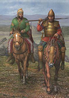 Ángel García Pinto - Guerreros escitas, siglos VII-VI AC.                                                                                                                                                      Más