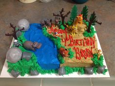 The lion guard cake Pinteres
