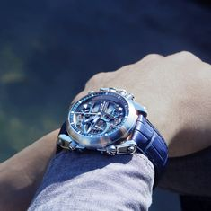 """Airy design, multilayered dial, the Chrono-Tour FASHION will delight you with its elegance and quality finishes. """"Never Giver Up"""" Omega Watch, It Is Finished, Tours, Boutique, Elegant, Accessories, Design, Fashion, Clock Art"""