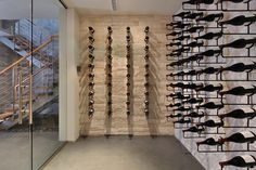 Snug Harbor - contemporary - wine cellar - orange county - Brandon Architects, Inc.